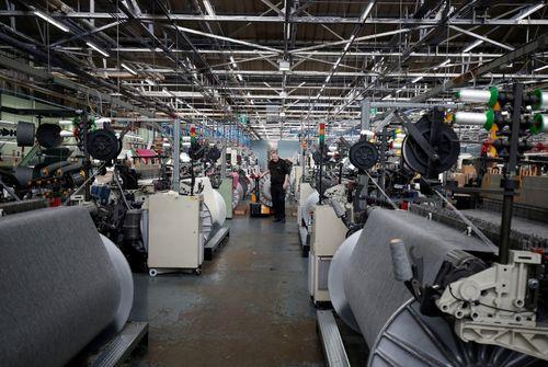 Hausse plus forte que prévu de la production industrielle — Grande-Bretagne