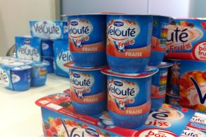 Danone - pot de yaourt Kiss
