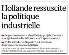 politique bayrou france industrielle