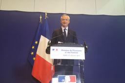 Le ministre français de l'Économie Bruno Le Maire a annoncé jeudi une nationalisation temporaire des chantiers navals de STX Franc