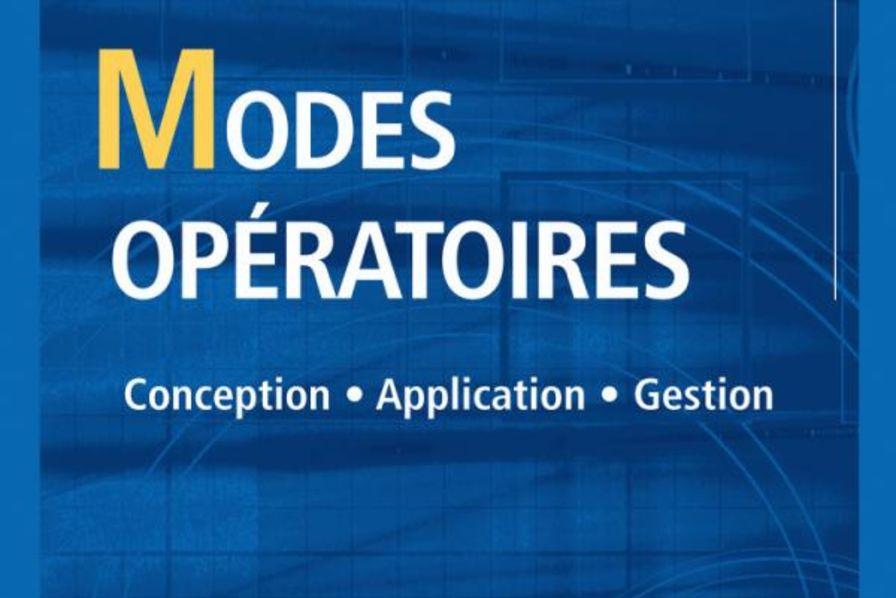 Conception. Application. Gestion. Modes opératoires