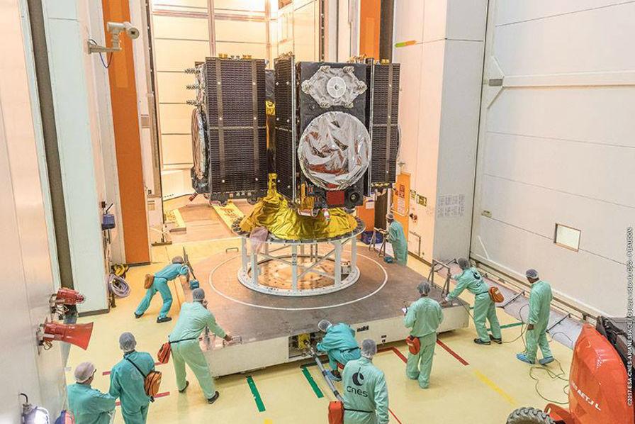 Ariane 5 décolle avec les satellites du programme phare de l'Europe