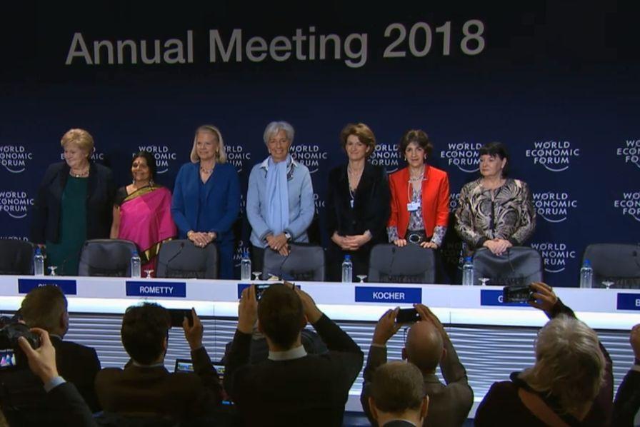Le 48ème forum de Davos ouvre ses portes