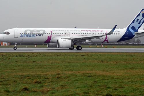 Succès du premier vol de l'avion A321 LR — AIRBUS