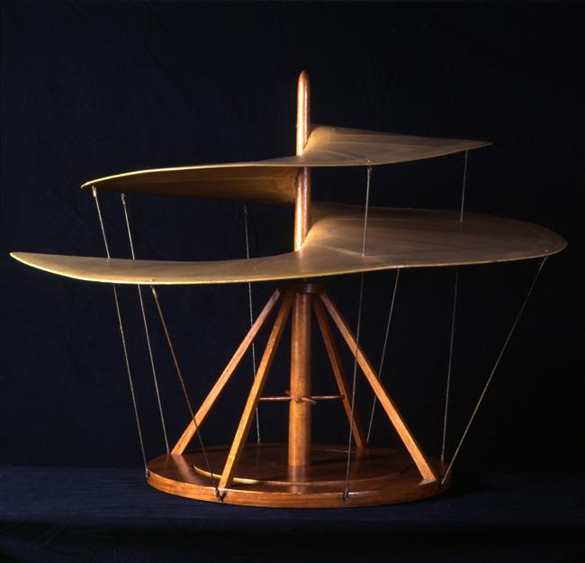 Hélicoptère de L. de Vinci
