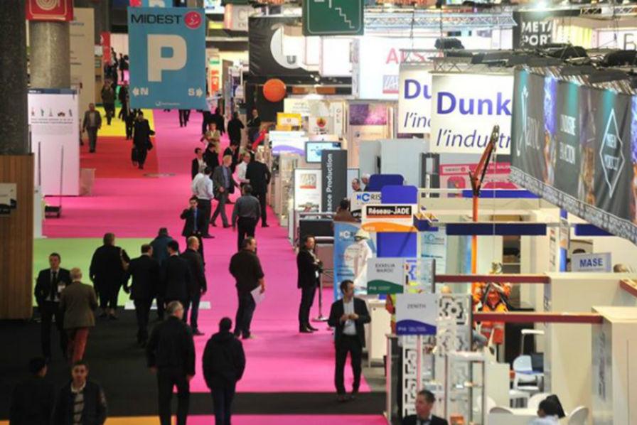 Le midest ouvre sur l 39 industrie du futur industrie - Salon de l industrie paris ...