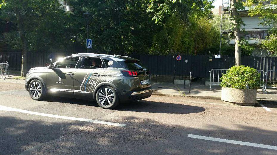 Un 3008 autonome à Roland-Garros — Peugeot