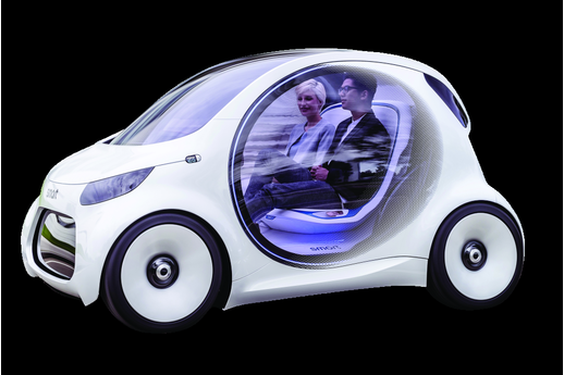 Daimler imagine la Smart de 2030
