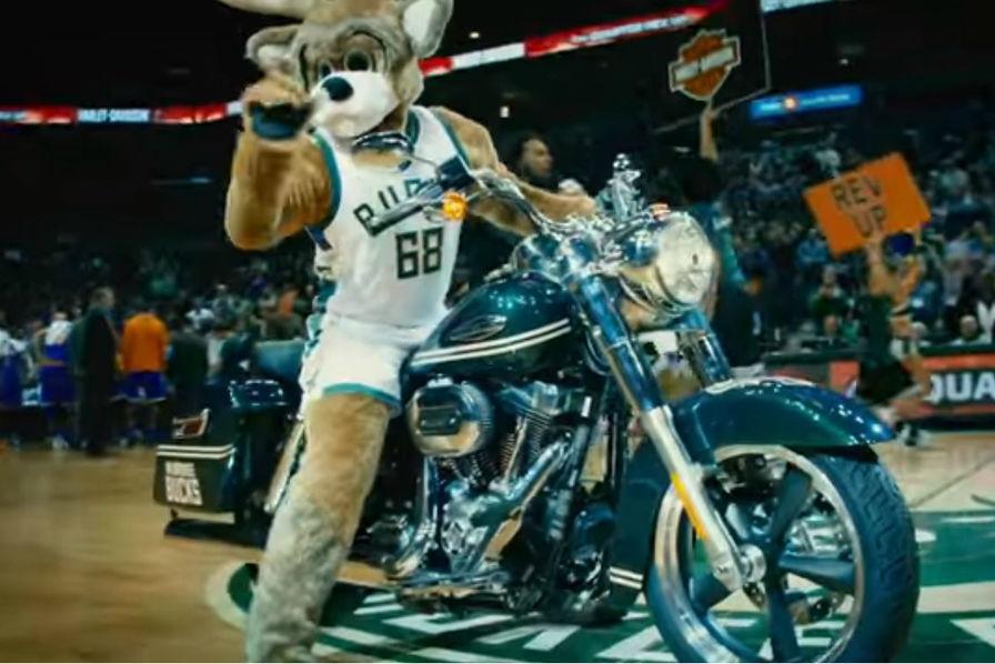 [Vidéo] Harley-Davidson va faire vibrer les parquets du championnat NBA dès la saison prochaine