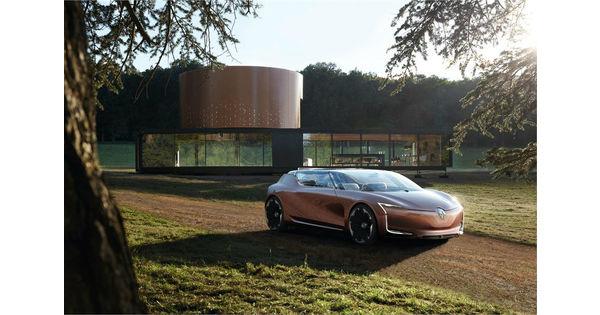 [Vidéo] Renault imagine la Symbioz, une voiture à vivre