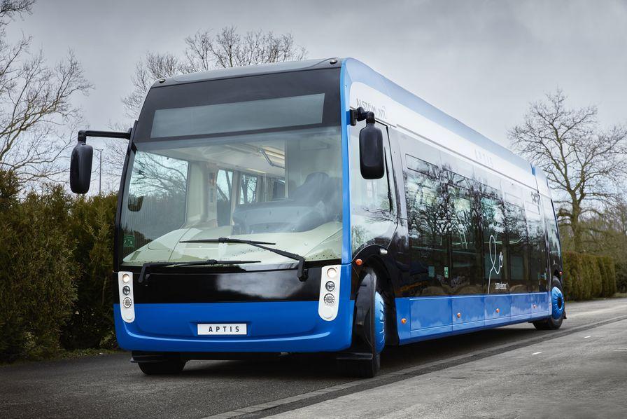 Alstom et NTL dévoilent leur bus 100% électrique