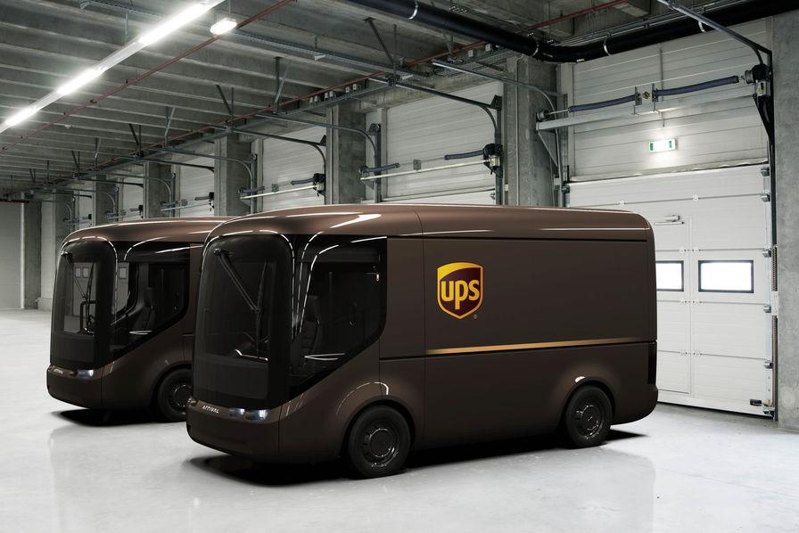 UPS collabore avec Arrival pour le développement d'une flotte de véhicules électriques
