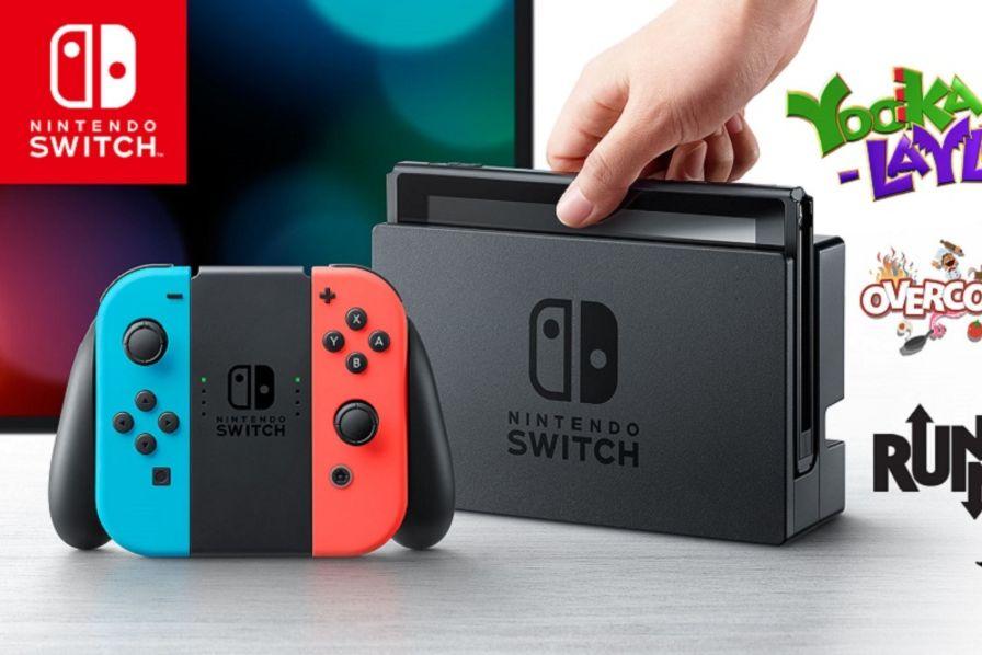 Les sept composants de stmicroelectronics dans la console de jeu switch de nintendo semi - Nouvelle console de jeux ...