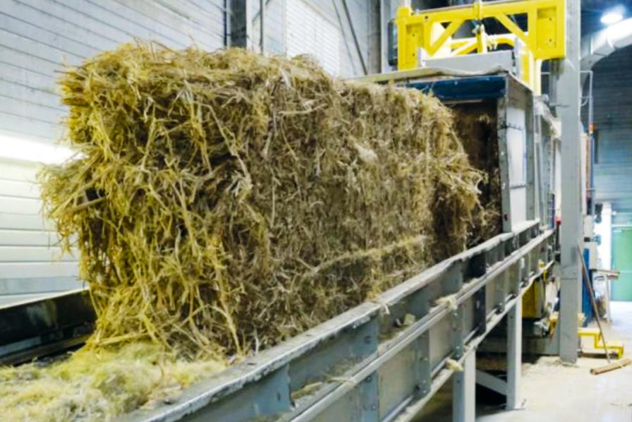 [L'idée verte] La Cavac produit sans déchets ses panneaux isolants en chanvre
