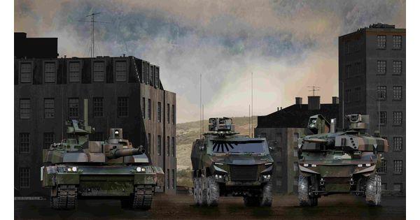 Le Français Thales fournira l'électronique des blindés Griffon destinés à la Belgique