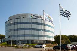 Le siège de la coopérative bretonne Triskalia dans le Landerneau