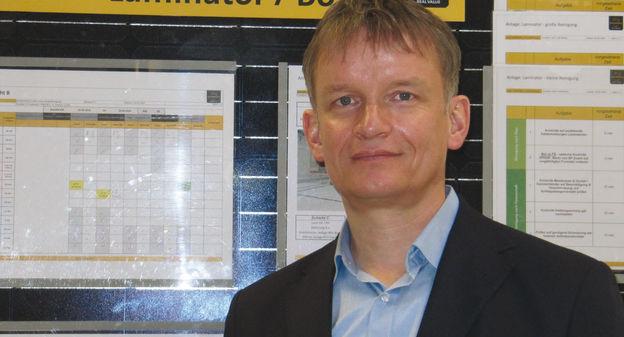 """""""Les panneaux photovoltaïques sont un produit stratégique"""", selon le patron allemand Gunter Erfurt"""