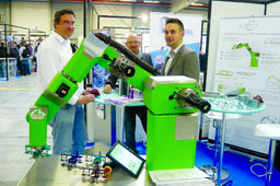 Le bisontin MC Robotics fabrique un robot industriel