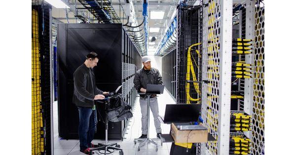 Plus de 500 méga datacenters opérés par les géants d'internet et du cloud