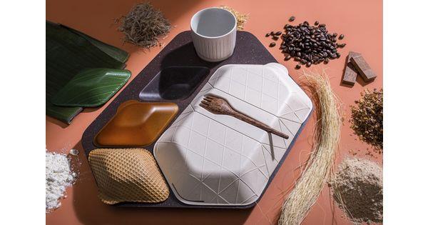 [L'industrie c'est fou] Un plateau-repas comestible pour diminuer les déchets (et les petits creux) en avion