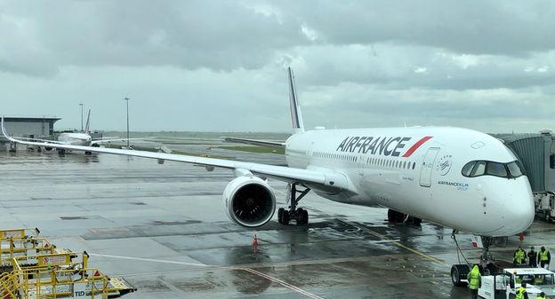[En images] Air France fait décoller son premier vol long-courrier avec du carburant aérien durable de Total