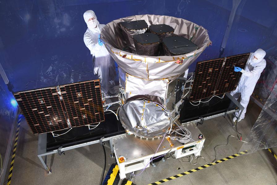 Lancement de TESS, le nouveau chasseur de planètes de la NASA