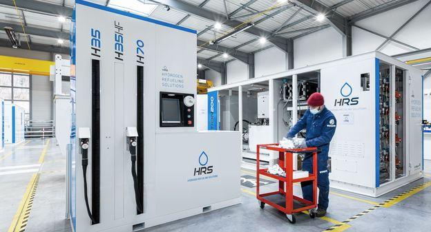 HRS va doubler sa production de stations hydrogène à Champagnier en Isère