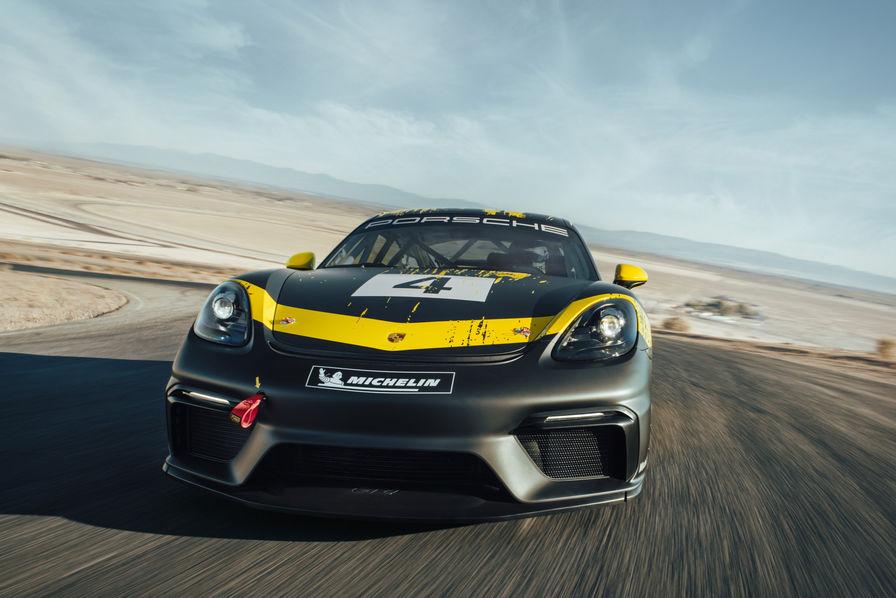 [L'industrie c'est fou] Plus fort que le carbone, la fibre naturelle dans la Porsche 718 Cayman GT4 Clubsport