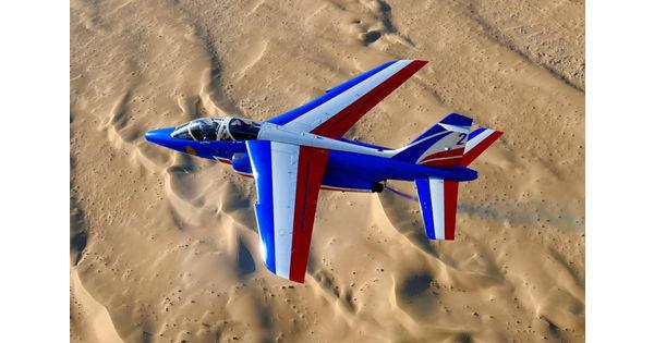 [Vu du ciel] Sentinelle du désert : La Patrouille de France à Dubai