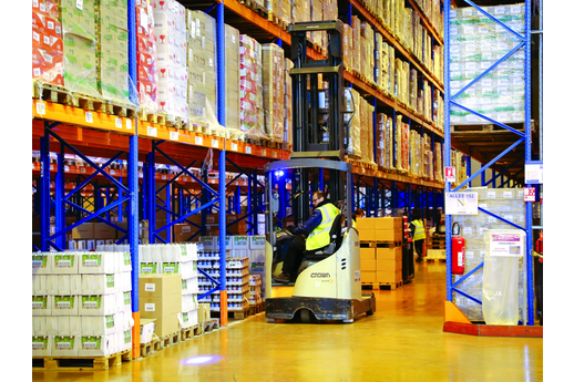 FM Logistic connecte ses robots
