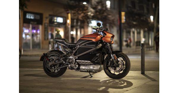 [En images] LiveWire, la première moto 100% électrique d'Harley-Davidson