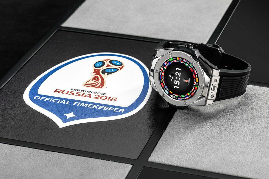 Lindustrie cest foot] une montre connectée de luxe pour suivre la