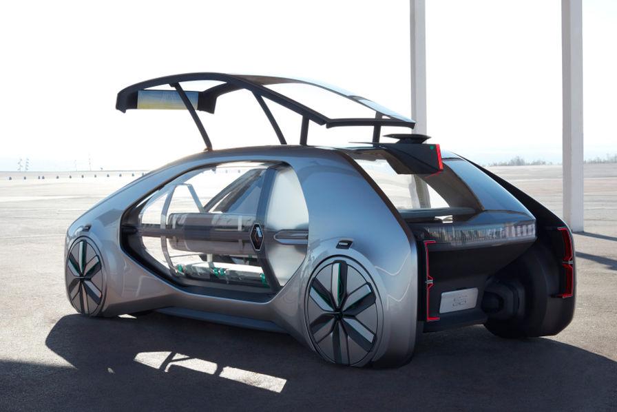 Renault EZ-GO: un concept de robot-véhicule électrique autonome et partagé