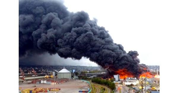 Lubrizol mis en examen suite à la catastrophe de Rouen - Chimie