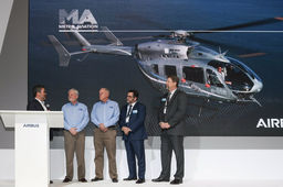 Metro Aviation commande 25 EC145e à Airbus Helicopters