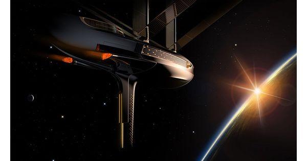 [L'industrie c'est fou] Prenez de la hauteur sur cet élégant voilier spatial