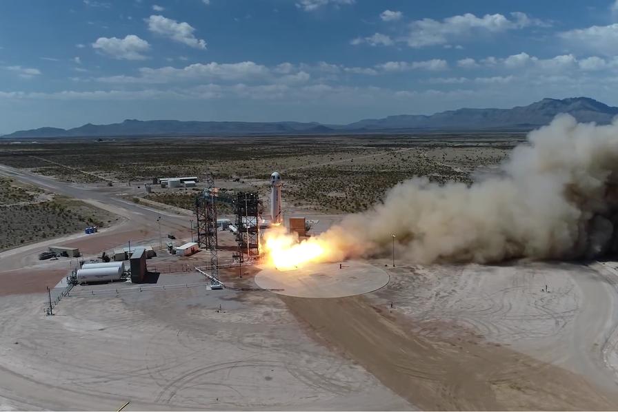 Blue Origin fait un pas de plus vers le tourisme spatial