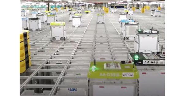 Moins de mètres carré, plus d'efficacité... Le futur de la logistique