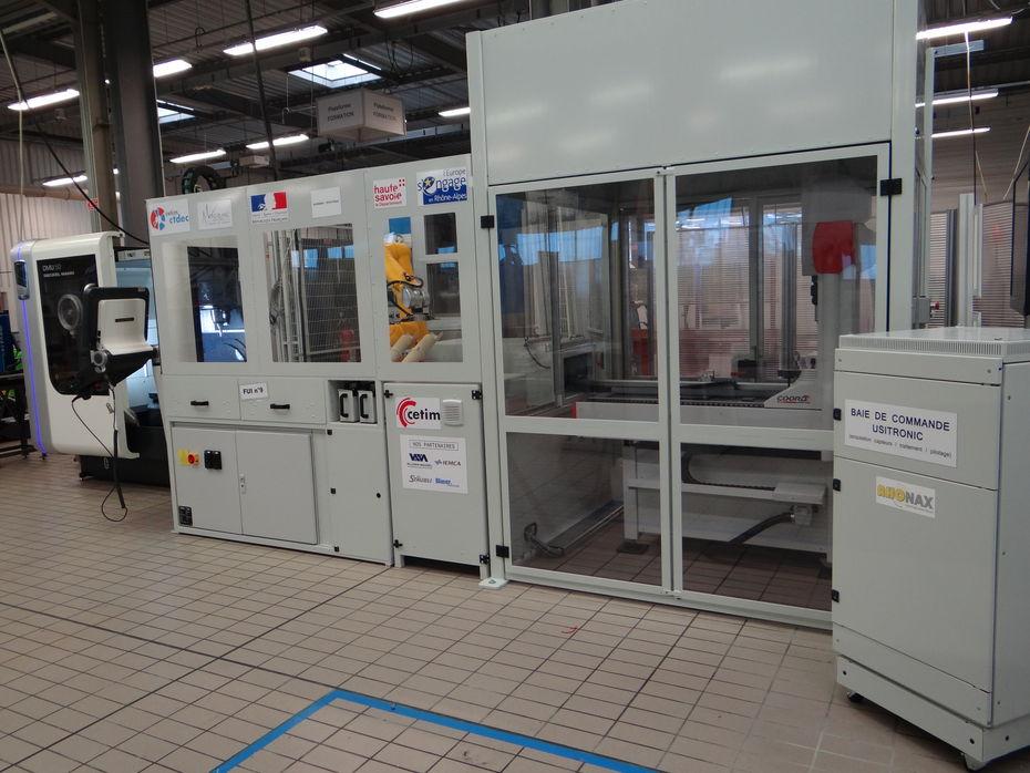Usitronic, l'ilot de production du Cetim-CTDEC