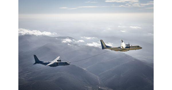 [Vidéo] L'avion-cargo C295 d'Airbus réussit ses tests de ravitaillement en altitude - L'Usine Aéro