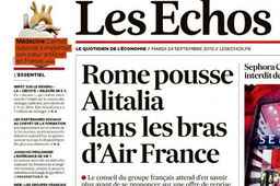 Air France / Alitalia, STX, le cœur artificiel Carmat, la tablette Surface 2... la revue de presse de l'industrie
