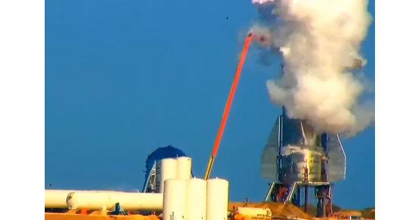 [Vidéo] Le premier prototype de la fusée Starship de SpaceX explose lors d'un test