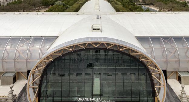 [[L'image du jour] En vue des Jeux Olympiques, Paris accueille un Grand Palais éphémère (et écolo)] - Usine Nouvelle