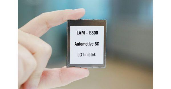 LG Innotek lance le premier module de communication 5G pour l'automobile