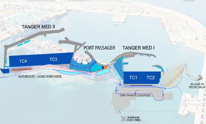 PLan de masse Tanger Med (source TMPA)
