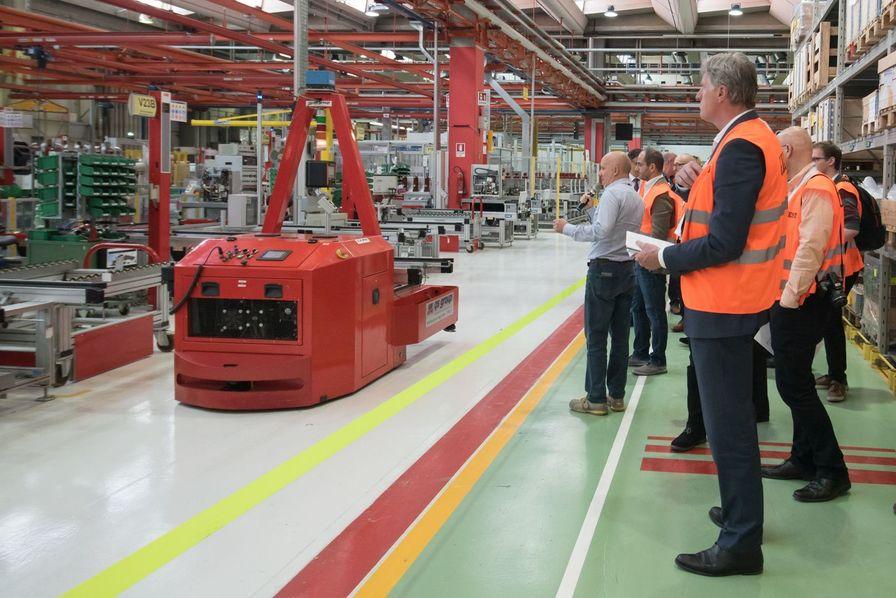Cession de la branche solutions industrielles à ABB — General electric