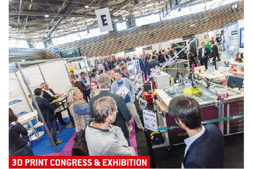 3D PRINT Congress & Exhibition : Le salon référent de la fabrication additive