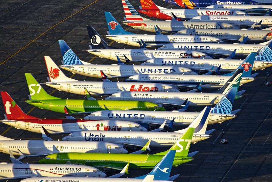 Boeing. Jusqu'à 50 avions immobilisés en raison de fissures