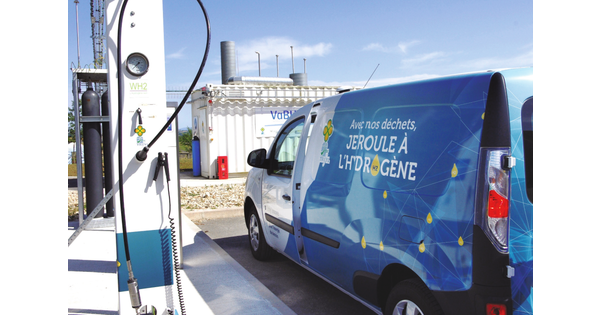 [L'idée verte] Produire un hydrogène vert bleu avec du biogaz
