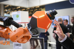 [En Images] Six innovations robotiques repérées sur le salon Global Industrie